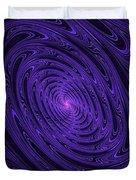 Violet Vortex-3 Duvet Cover