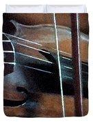 Violin Duvet Cover