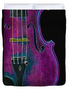 Violin Viola Body Photograph In Digital Color 3265.03 Duvet Cover