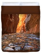Virgin River Rocks Duvet Cover