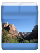 Virgin River View Duvet Cover