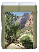 Virgin River Zion Valley Duvet Cover