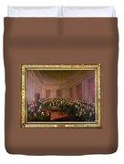 Virginia Convention 1829 Duvet Cover