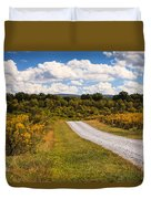 Yesterday - Virginia Country Road Duvet Cover