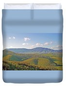 Virginia Mountains  Duvet Cover