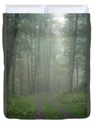 Virginia - Shenandoah National Park - Road Not Taken Duvet Cover