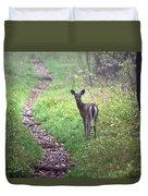 Virginia - Shenandoah National Park - White Tailed Deer Duvet Cover