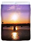 Virginia Sunset Duvet Cover