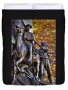Virginia To Her Sons At Gettysburg - War Fighters - Band Of Brothers 1b Duvet Cover