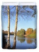 Virginia Water Windsor Berkshire Uk  Duvet Cover