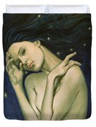 Virgo  From Zodiac Series Duvet Cover