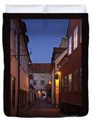 Visby Evening  Duvet Cover