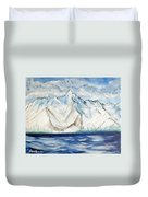 Vision Of Mountain Duvet Cover
