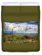 Visions Of Arizona  Duvet Cover