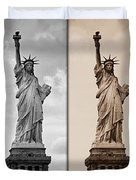 Visions Of Liberty Duvet Cover