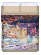 Visions Of Mesa Verde Duvet Cover