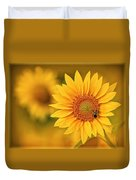 Visions Of Summer Duvet Cover