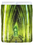 Visiting Emerald City Duvet Cover