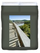 Visitor's Center Lookout Duvet Cover