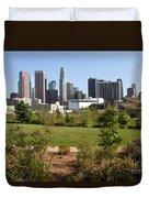 Vista Hermosa Park Los Angeles California Duvet Cover