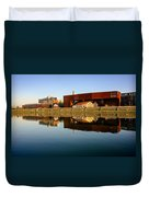 Vistula River 2 Duvet Cover by Tomasz Dziubinski