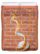 Vitamin C Wall Duvet Cover