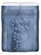 Vitis Cyanotype Duvet Cover