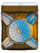 Vittorio Emanuele Gallery - Milan Duvet Cover