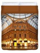 Vittorio Emanuele II Gallery Milan Italy Duvet Cover