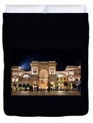 Vittorio Emanuele II Gallery Duvet Cover by Michal Bednarek