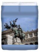 Vittorio Emanuele II Monument In Rome Duvet Cover