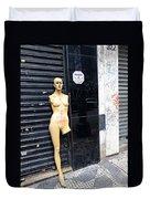 Viva O Meu Corpo - Sao Paulo Duvet Cover by Julie Niemela