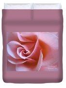 Vivacious Pink Rose 2 Duvet Cover