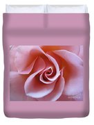 Vivacious Pink Rose 3 Duvet Cover