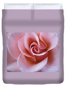 Vivacious Pink Rose 4 Duvet Cover