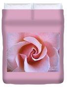 Vivacious Pink Rose 5 Duvet Cover