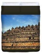 Vivid Borobudur Duvet Cover