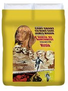 Vizsla Art Canvas Print - North By Northwest Movie Poster Duvet Cover