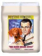 Vizsla Art Canvas Print - The Glenn Miller Story Movie Poster Duvet Cover