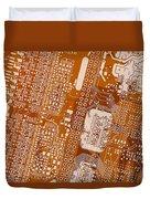 Vo96 Circuit 2 Duvet Cover