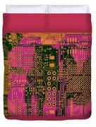 Vo96 Circuit 6 Duvet Cover