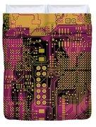 Vo96 Circuit 8 Duvet Cover