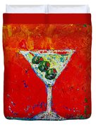 Vodka Martini Shaken Not Stirred - Martini Lovers - Modern Art Duvet Cover