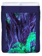 Volcanic Tree 2 Duvet Cover