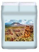 Volcano At Grand Canyon Arizona Duvet Cover