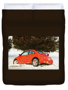 Volkswagen Snow Day Duvet Cover