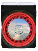 Volkswagen Vw Wheel Emblem Duvet Cover