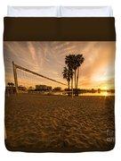 Volley Sunrise  Duvet Cover