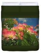Voluntary Mimosa Tree Duvet Cover