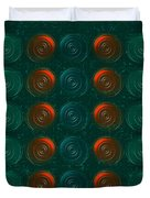 Vortices Duvet Cover